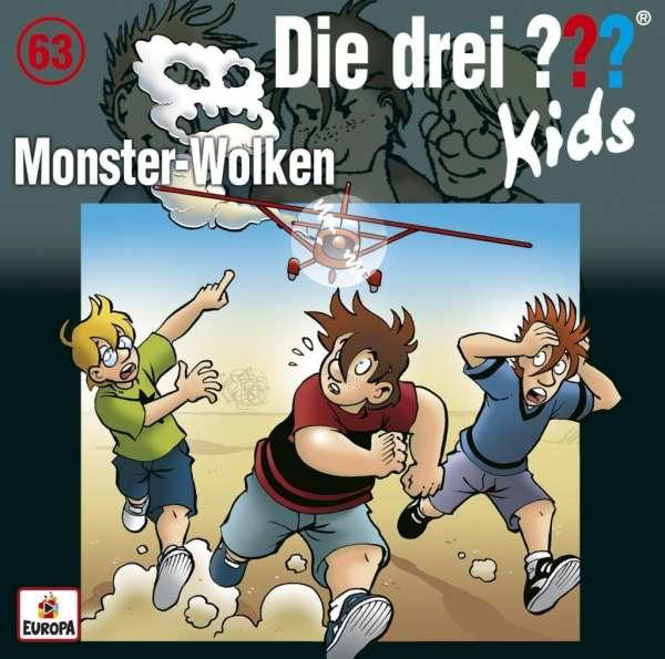 Ulf Blanck: Die drei ??? Kids 63: Monster-Wolken (CD) – jpc