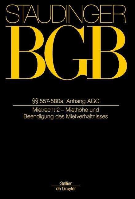 Bgb 557 580a Mietrecht 2 Miethöhe Und Beendigung Des
