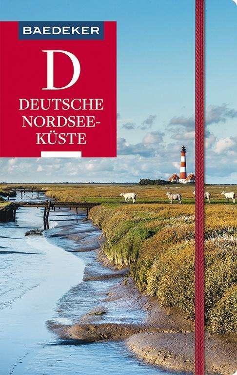 Deutsche Nordseeküste Karte.Sven Bremer Baedeker Reiseführer Deutsche Nordseeküste