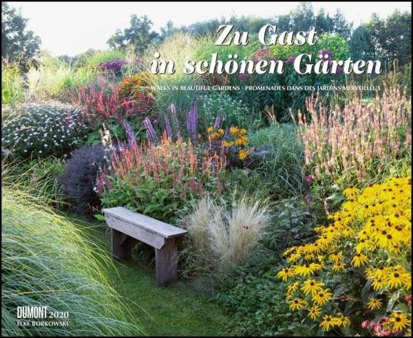 Zu Gast In Schönen Gärten 2020 Dumont Garten Kalender Querformat
