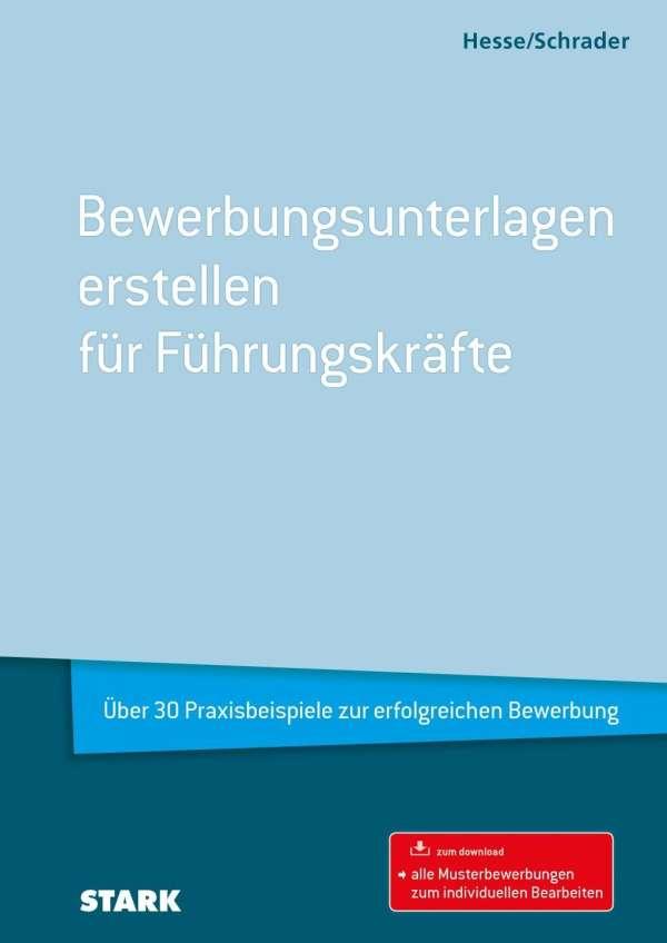 jrgen hesse hesseschrader bewerbungsunterlagen erstellen fr fhrungskrfte - Hesse Schrader Bewerbung