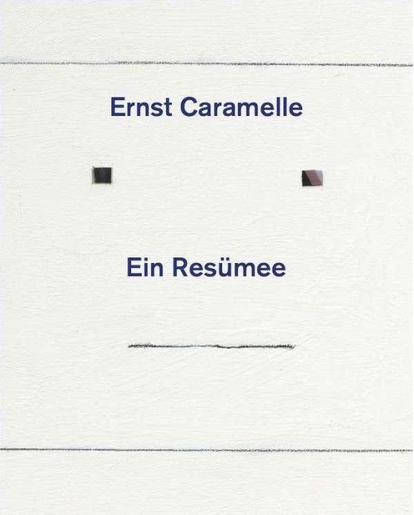 Ernst Caramelle Ein Resümee Buch Jpc