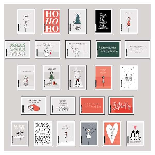 lisa wirth 25 handgemachte weihnachtskarten teil 1 diverse jpc. Black Bedroom Furniture Sets. Home Design Ideas