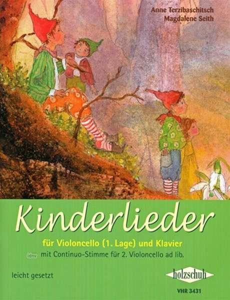 Anne Terzibaschitsch Kinderlieder Fur Violoncello 1 Lage Und