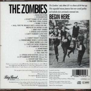 The Zombies Begin Here Plus Cd Jpc