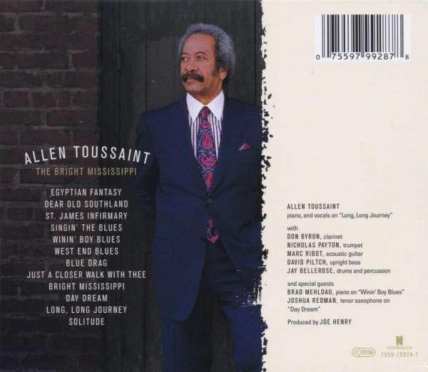Allen Toussaint The Bright Mississippi Cd Jpc
