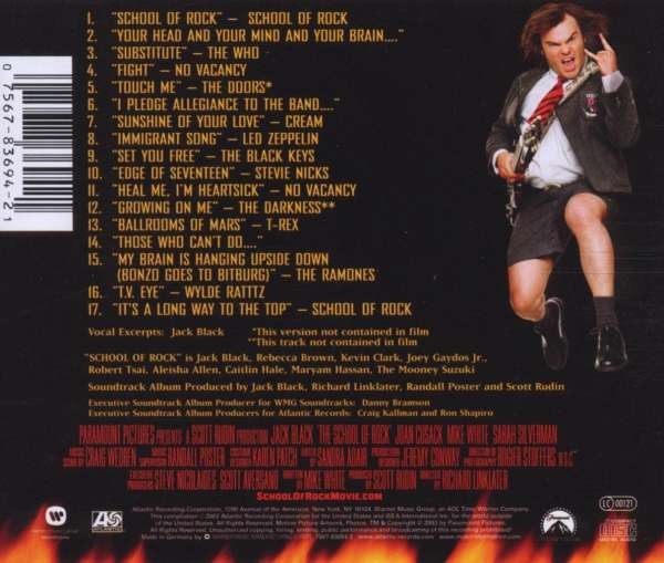The Rock Filmmusik