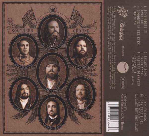 Zac Brown Band Uncaged Cd Jpc