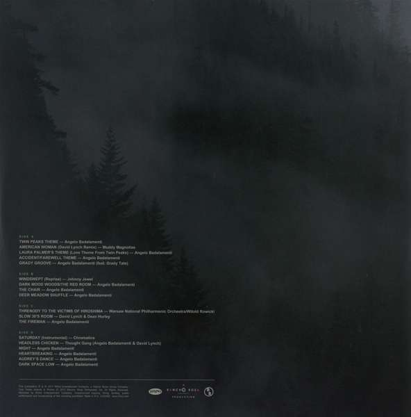 Filmmusik Twin Peaks Limited Event Series Soundtrack