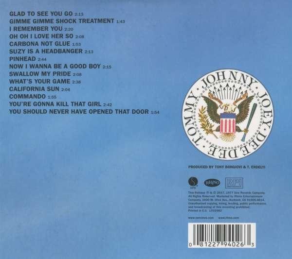 Ramones Leave Home 40th Anniversary Edition Cd Jpc