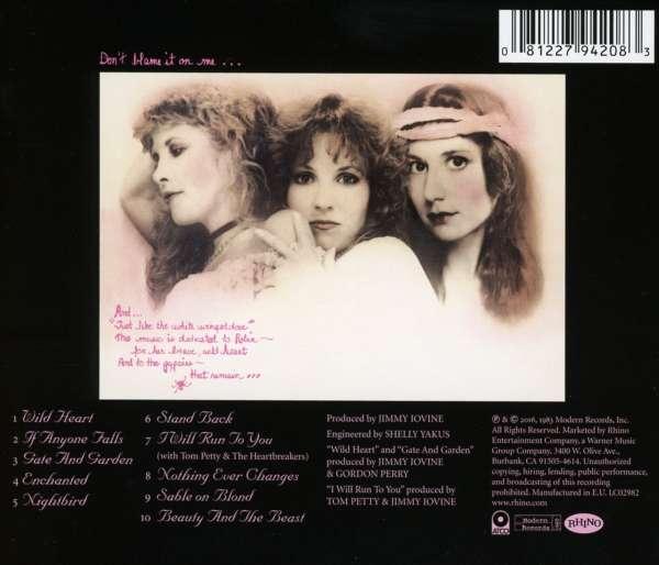 Stevie Nicks The Wild Heart Remastered Cd Jpc De