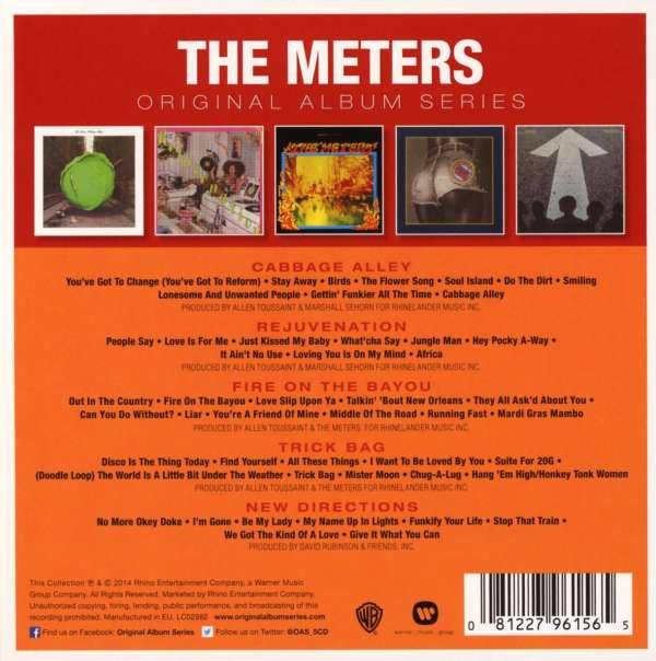 The Meters Original Album Series 5 Cds Jpc