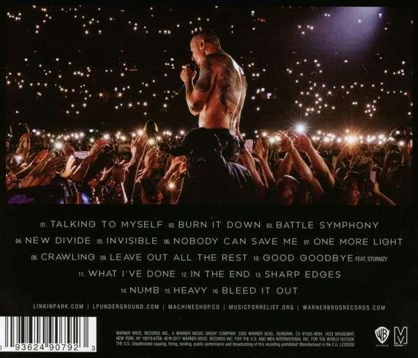 Linkin Park One More Light Live Cd Jpc De