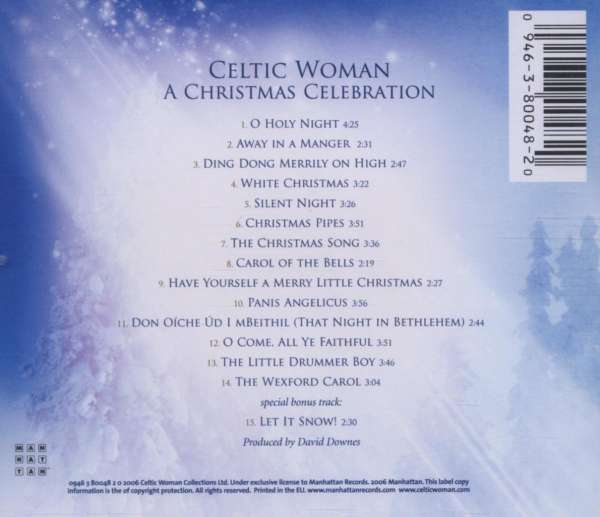 Celtic Woman: A Christmas Celebration (CD) – jpc
