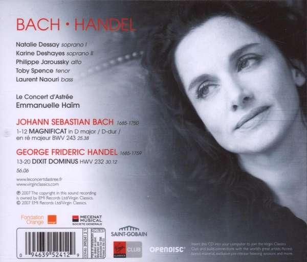 bach magnificat dessay Magnificat de bach y dixit dominus de händel desde frankfurt , desde la sendesaal , vídeo del concierto dirigido por emmanuelle haïm.