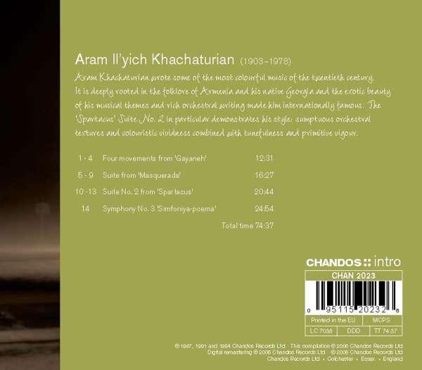Aram Khachaturian Symphonie Nr3 Simfoniya A Poema Cd Jpc