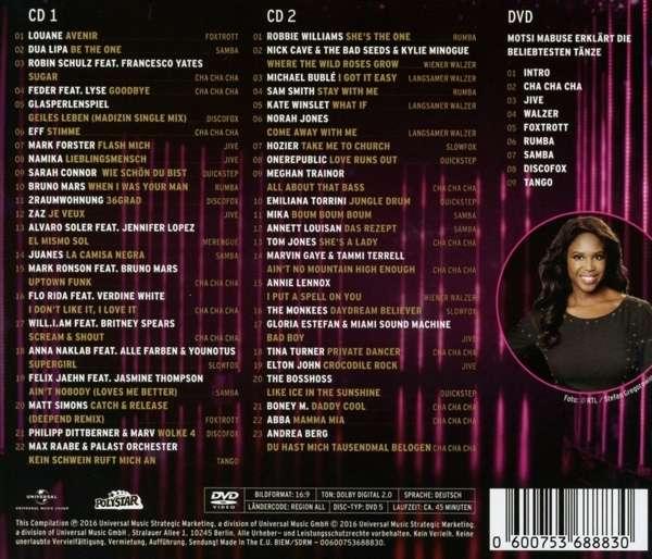 Lets Dance Das Tanzalbum 2016 Inkl Bonus Dvd 2 Cds