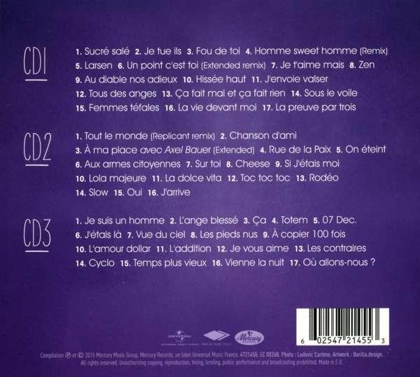 Zazie: Les 50 Plus Belles Chansons (3 CDs)