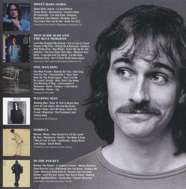 James Taylor: The Warner Bros  Albums: 1970 - 1976