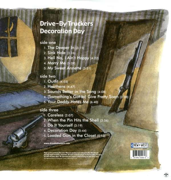 Drive-By Truckers: Decoration Day (Limited Edition) (2 LPs ...