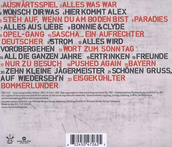 zuverlässiger Ruf Exklusive Angebote 100% hohe Qualität Die Toten Hosen: All die ganzen Jahre: Ihre besten Lieder