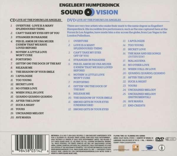 Engelbert Humperdinck: Essential Collection (CD + DVD)