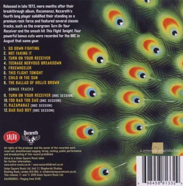 Nazareth Loud N Proud Remastered Bonustracks Cd Jpc