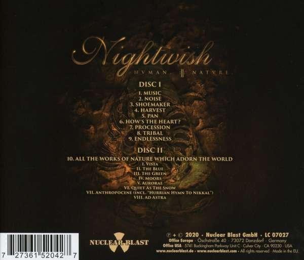 Nightwish: Human. :II: Nature. (2 CDs) – jpc.de