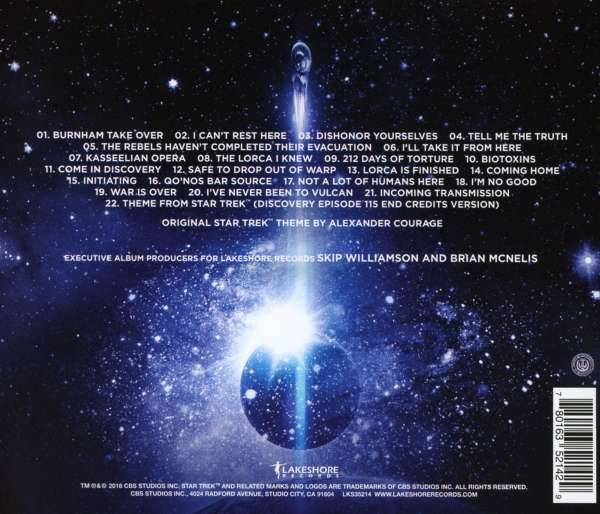 Filmmusik Star Trek Discovery Season 1 Chapter 2 Cd Jpc