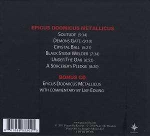 Candlemass Epicus Doomicus Metallicus Cd Jpc