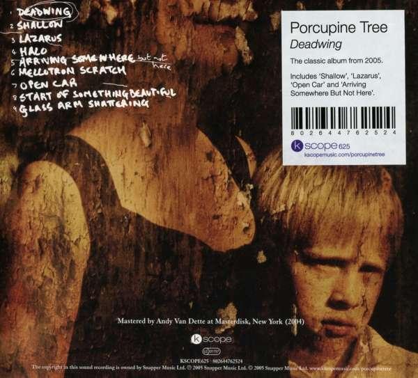 porcupine tree deadwing cd jpc. Black Bedroom Furniture Sets. Home Design Ideas