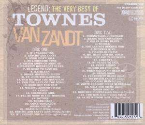 Townes Van Zandt Legend 2 Cds Jpc