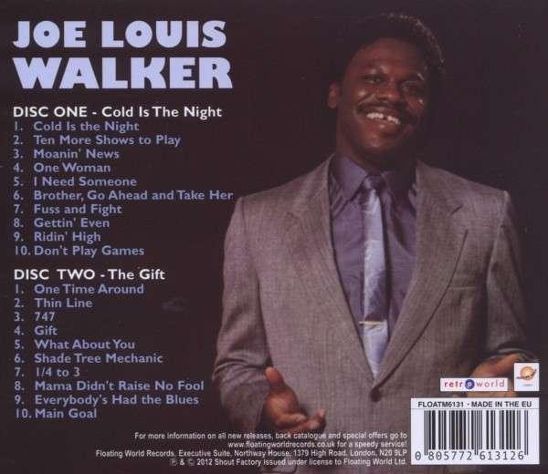 Joe Louis Walker: Cold Is The Night / The Gift (2 CDs) – jpc