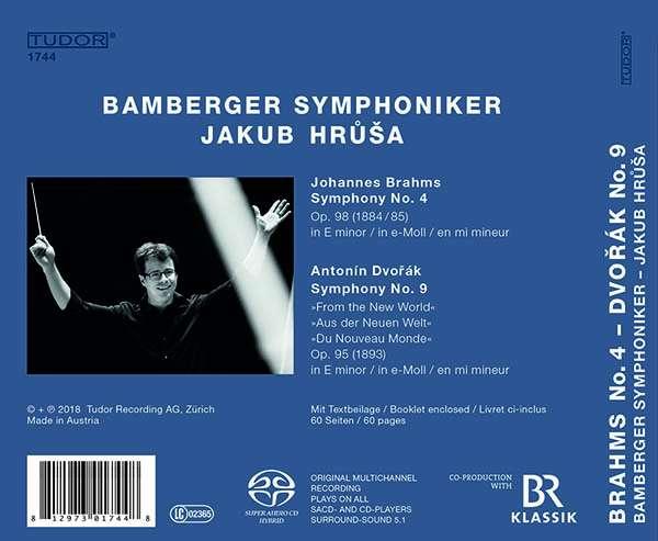 Bildergebnis für brahms - dvorak bamberger symphoniker jakub hrusa