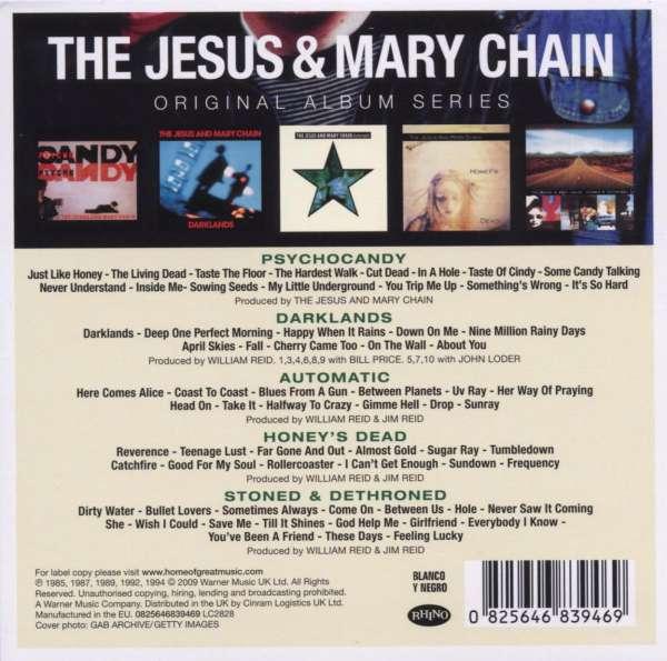 The Jesus And Mary Chain Original Album Series 5 Cds Jpc