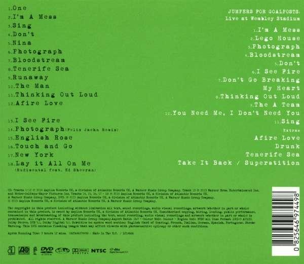 Ed Sheeran X Wembley Edition Cd Jpc