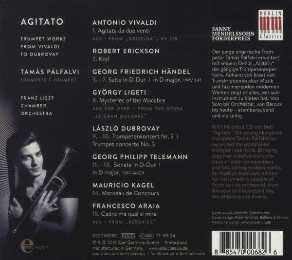 tamas palfalvi agitato cd jpc - Antonio Vivaldi Lebenslauf