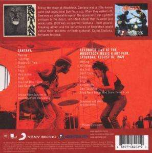 Santana The Woodstock Experience Limited Edition 2 Cds