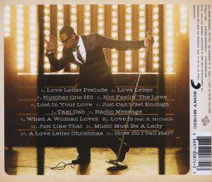love letter r kelly r letter cd jpc 48854