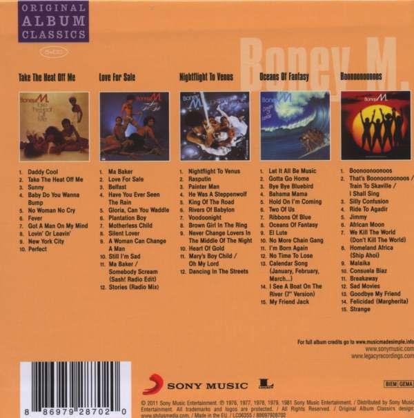 Boney M Take The Heat Off Me Vinyl Boney M Take The Heat