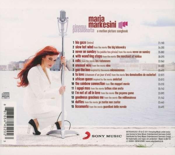 Maria Markesini - Cinema Passionata, A Motion Picture Songbook