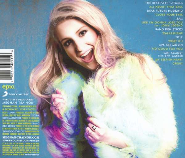 The Love Train Meghan Trainor: Meghan Trainor: Title (Deluxe Edition) (CD)