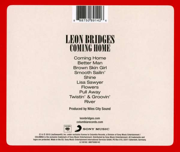 Coming Home Deluxe Leon Bridges: Leon Bridges: Coming Home (CD)