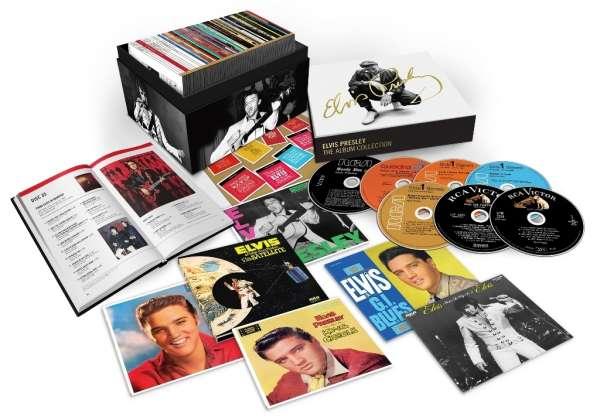 Elvis Presley The Album Collection 60 Cds