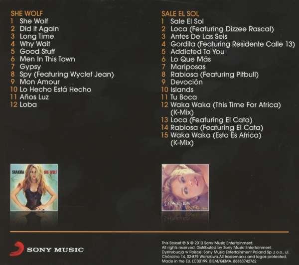 Shakira She Wolf Sale El Sol 2 Cds Jpc