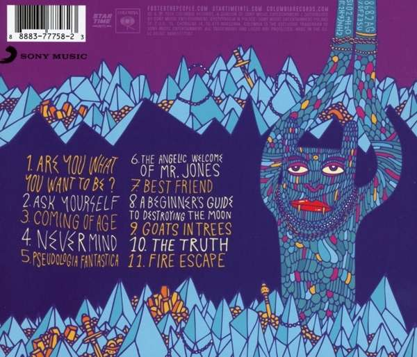 Foster The People Supermodel Cd Jpc