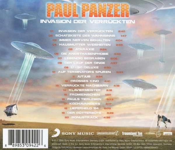 Paul Panzer Invasion Der Verrückten Dvd