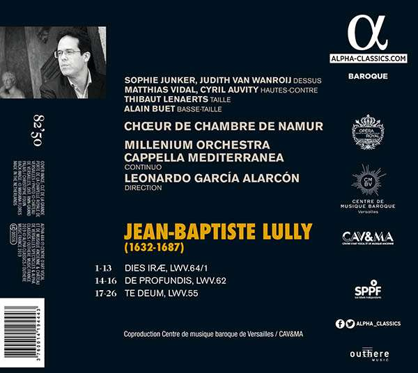 LULLY : Oeuvre religieuse 3760014194443