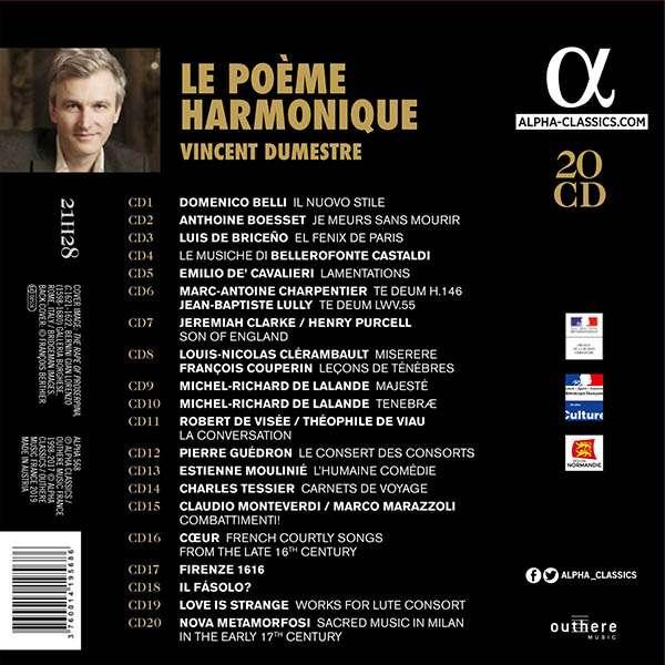 Le poème harmonique - Vincent Dumestre 3760014195686