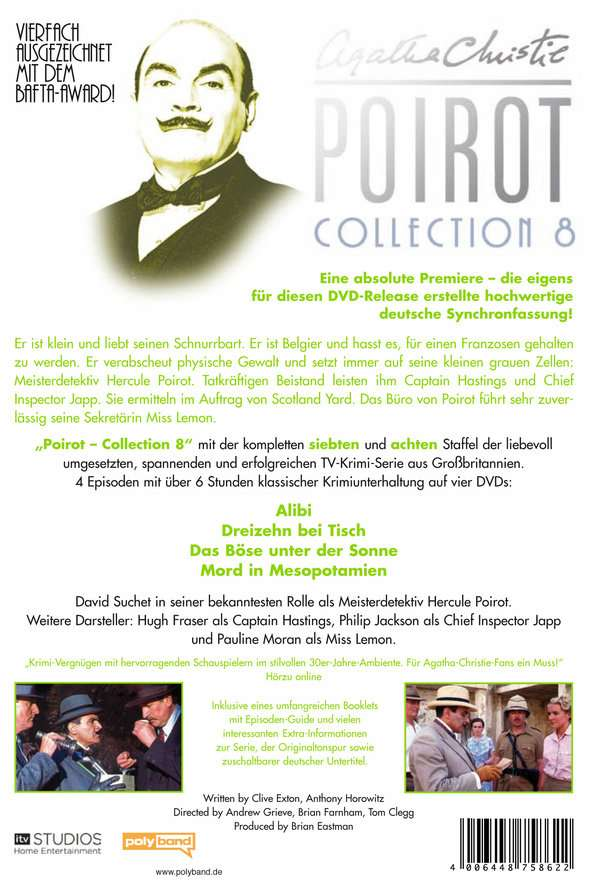 Agatha Christie's Hercule Poirot: Die Collection Vol.8